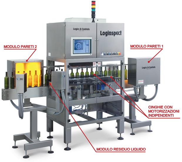 INDUSTRIA 4.0 - CANTINA 4.0® - Controllo bottiglia vuota