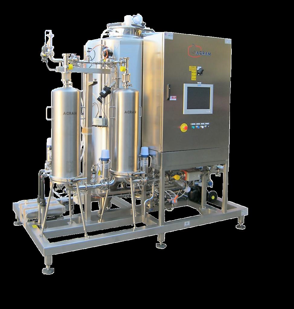 Lavaggio e sanificazione - Impianti Cip - Cantina 4.0